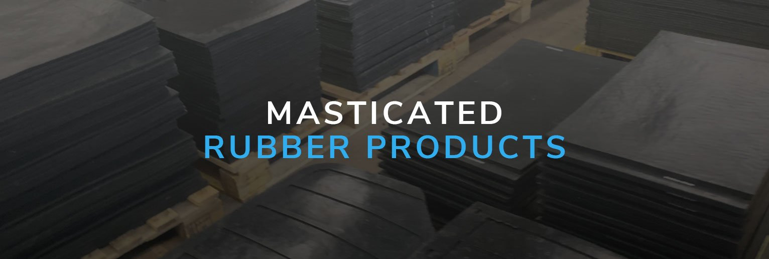 Masticated Rubber Products Banner
