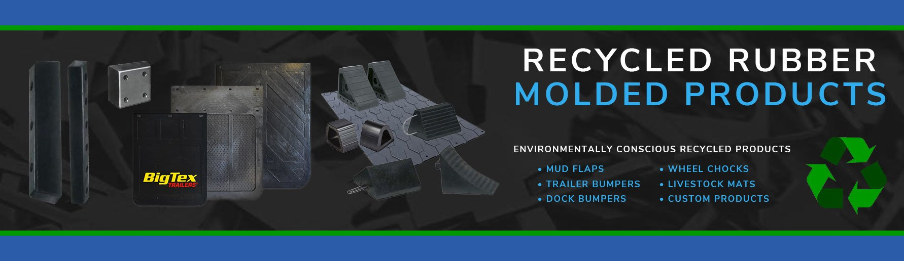 Recycled Rubber Molded Products
